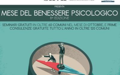 Mese del Benessere Psicologico MBP 2016